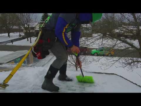 Winter Solar Installation - Lockport NY