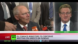 Eurogroup adjourns until Sunday without reaching Greece deal