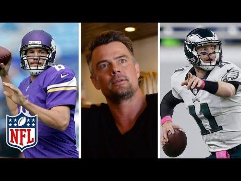 Quarterback Chaos Theory with Josh Duhamel   NFL360