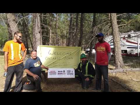 Boulder Creek gold mining community welcomes Ontario John.