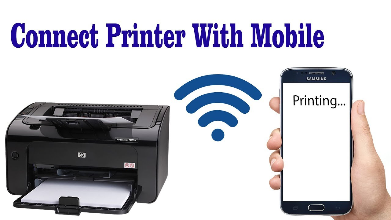 How to connect Hp laserjet Printer with Android Mobile ...