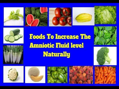 Foods You Should Eat To Increase Amniotic Fluid During Pregnancy