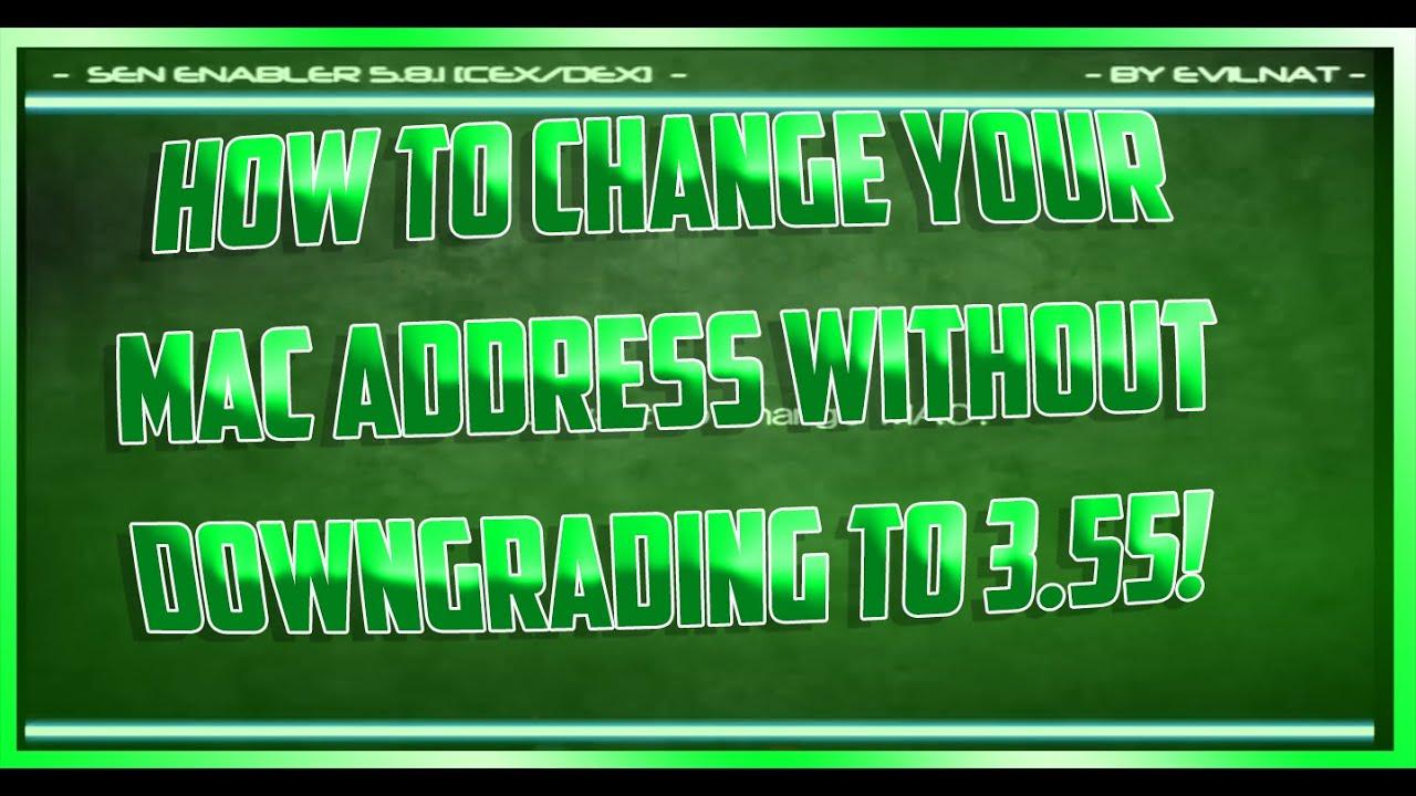how to unban ps3 mac address