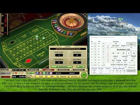 Video Roulette system app