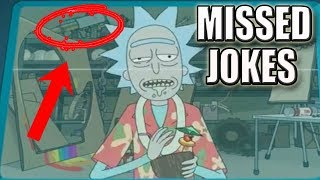 Rick and Morty Season 3   10 Jokes You Missed So Far