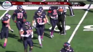 Bucknell Football vs. Lehigh Highlights