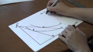 How to draw income and substitution effects