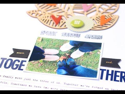 Scrapbook Process | Titles & Veneer Tutorial with Studio Calico