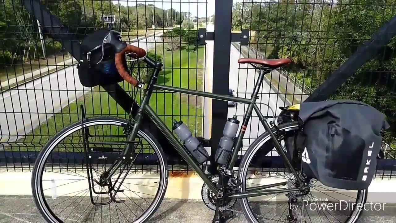 2017 Fuji Touring Bicycle And 2017 Fuji 650 Ace Arkel