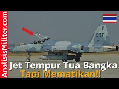 Umur Sudah 40 Tahun, Pesawat Tempur F-5 Thailand ini Masih Di Upgrade
