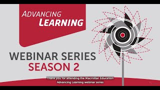 Advancing Learning Webinars – Thank you for taking part