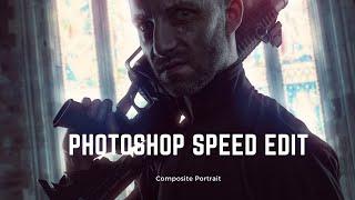 Photoshop Speed Edit Composite Portrait