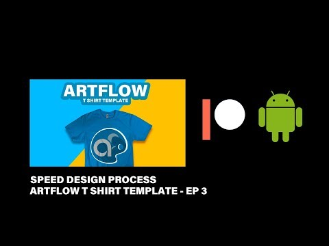 Artflow App For Android - Tshirt Template - PATREON SPEED UP DESIGN PROCESS