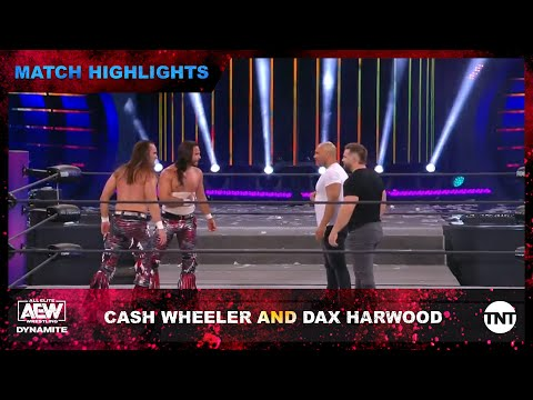 FTR's Cash Wheeler And Dax Harwood Make Surprise AEW Debut