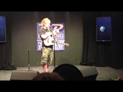 Ed Sheeran doing his best American accents - Tampa FL - (4.20.2013)
