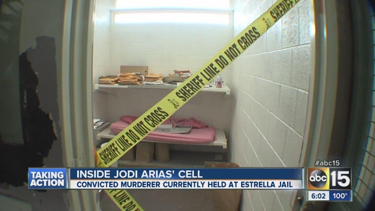 Inside Jodi Arias' cell