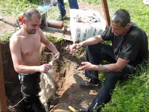 come fare un pozzo per avere acqua. How to make a water well