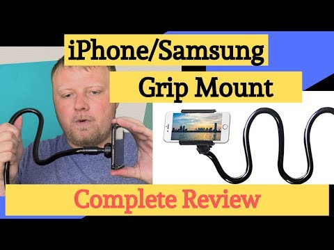 full-review-of-cell-phone-clip/grip---flexible-long-arm-mount-clamp-iphone-&-samsung-for-desk