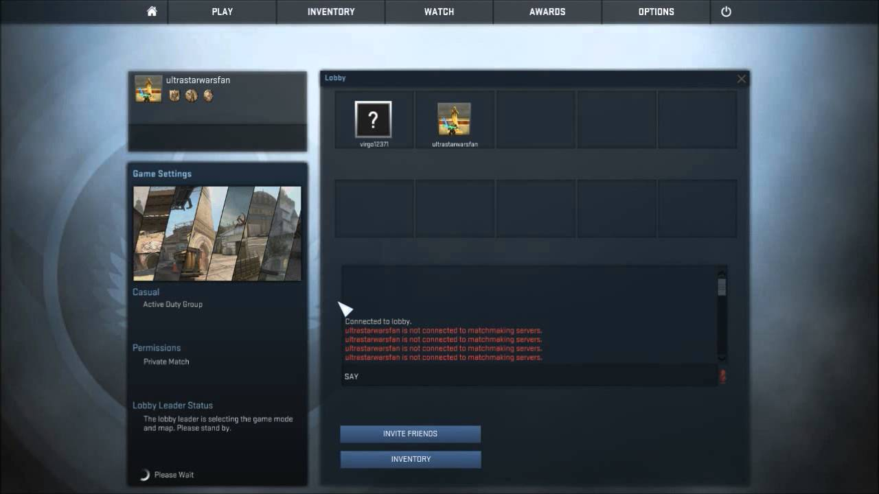Cant Connect To Cs Go Matchmaking