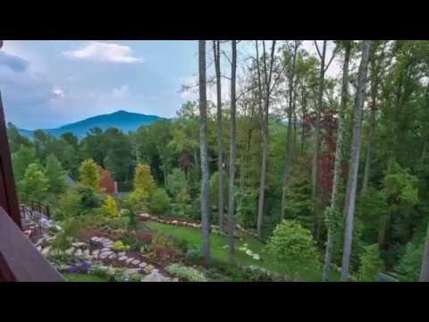 Tour of Deerhaven estate and garden  in Asheville, North Carolina