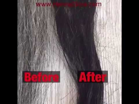 Mehndi For Gray Hair : Diy dye gray hair black naturally henna indigo step by