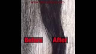 diy   dye gray hair black naturally henna indigo step by step