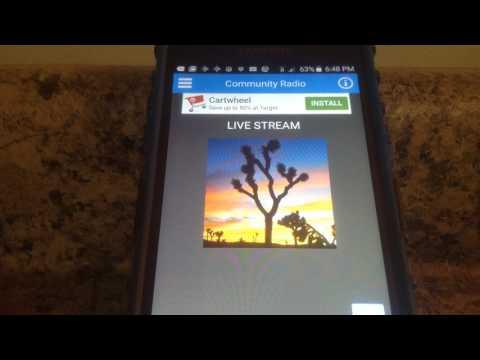 RADIO-THON TO BENEFIT TWENTYNINE PALMS HIGH SCHOOL CHOIR  part 3