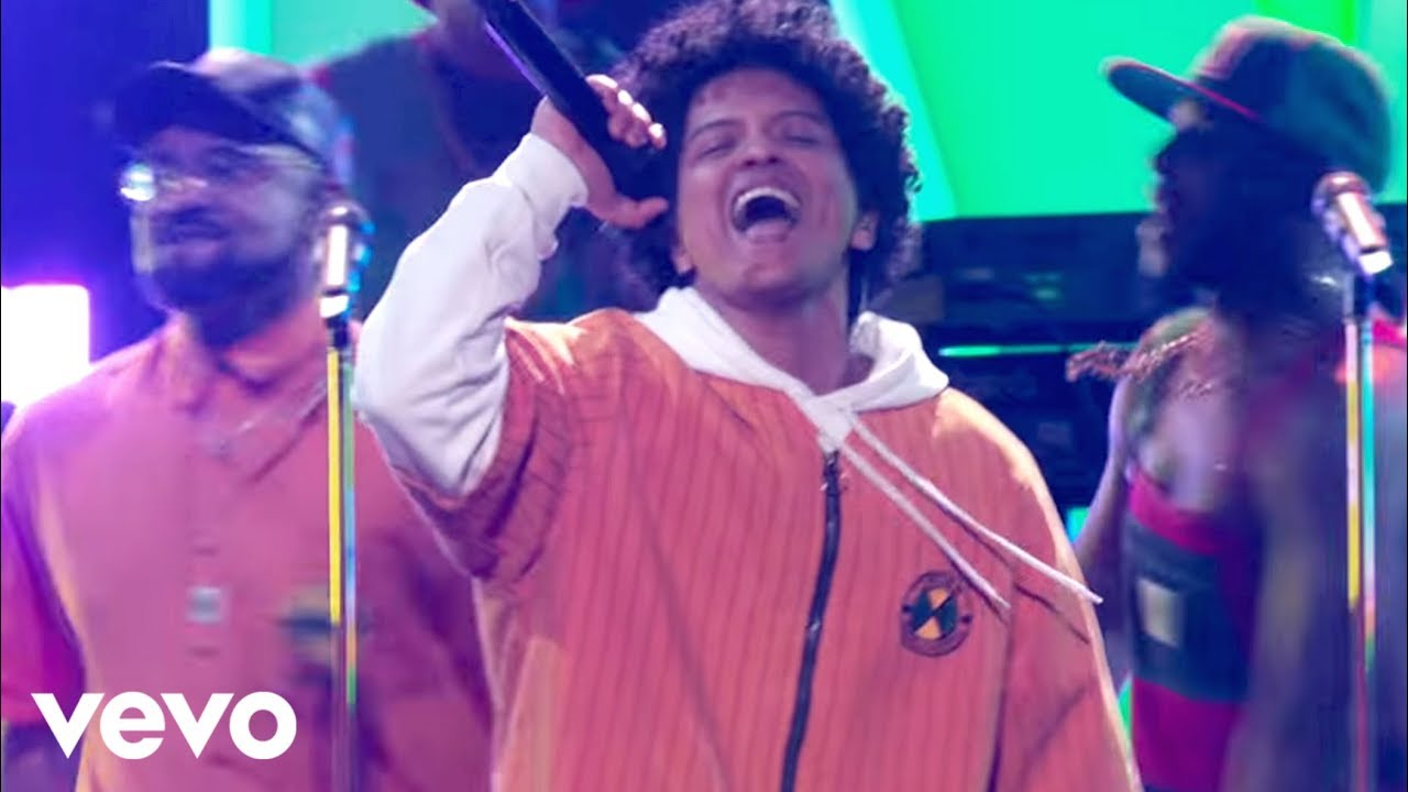 Image result for Bruno Mars and Cardi B - Finesse (LIVE From The 60th GRAMMYs ®)