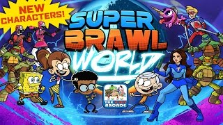 Super Brawl World - New Characters: Clyde & Phoebe Join The Brawl (Nickelodeon Games)