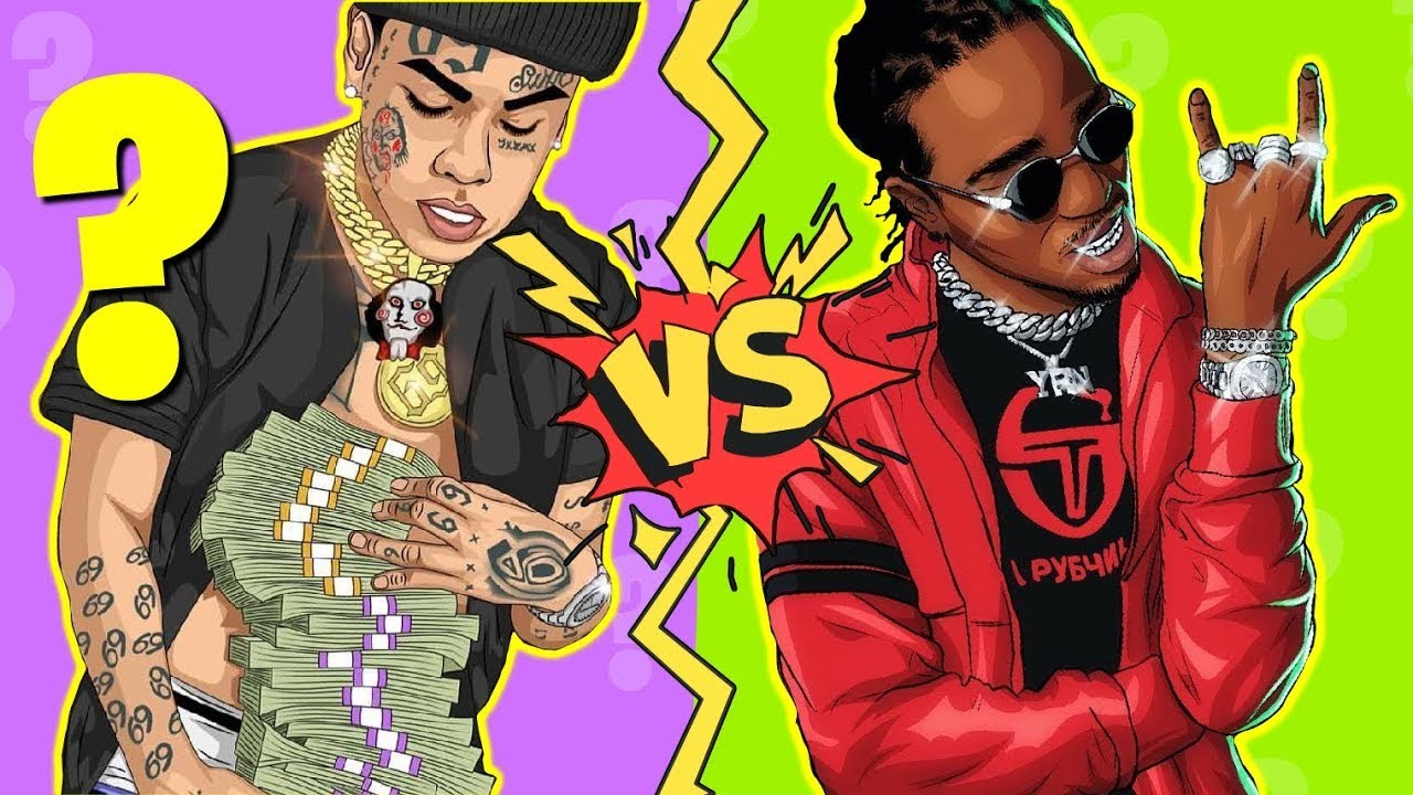 WHICH RAPPER IS RICHER? QUIZ 2021   RAPPERS WARS   A NEW QUIZ TYPE