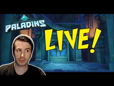 Paladins! Patch preview & Customs with viewers!