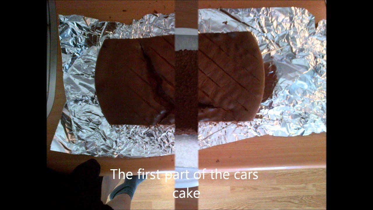 Tutorial cars cake youtube tutorial cars cake baditri Choice Image