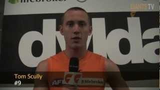 Tom Scully post match interview Round 10
