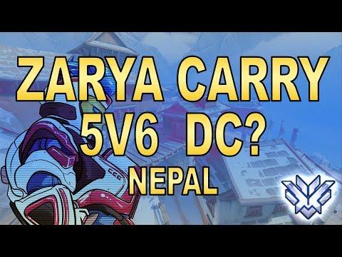 Zarya Carry In 5V6 Situation on Nepal - SPREE