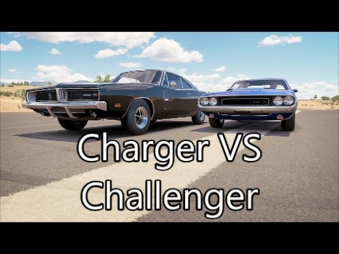 Charger Vs Challenger >> Forza Horizon 3 1969 Dodge Charger VS 1970 Dodge ...
