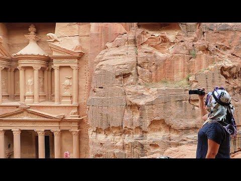 Затерянный город Петра в Иордании - одно из Семи Чудес Света!