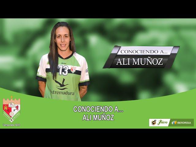 Liga #RetoIberdrola 19/20: #ConociendoA... Ali Muñoz