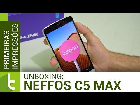 Unboxing E Primeiras Impressões Neffos C5 Max | TudoCelular