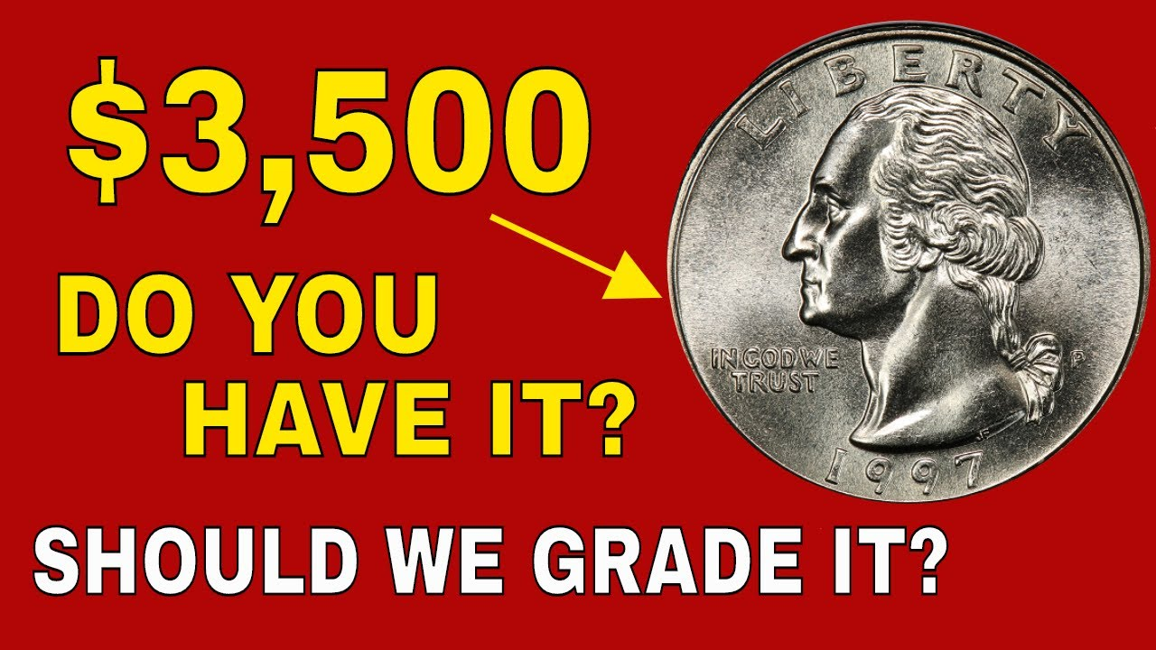 1997 Quarters you should look for! Quarters worth money to look for!