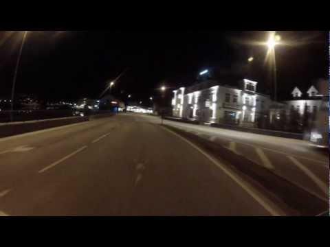 Førde by night