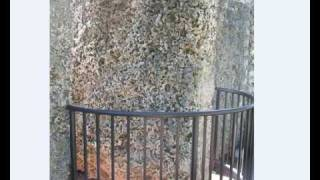 Coral Castle - The 9 Ton Gate at the Coral Castle in Florid