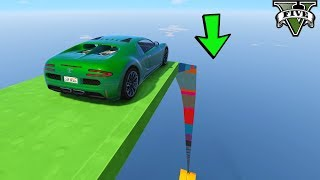 قراند 5 : باركور بوغاتي ماب يغير جوك 🐸🐸 GTA Online Car Parkour Map Crazy