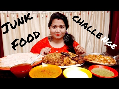 || Junk Food Challenge || Cherry Sathakshi ||
