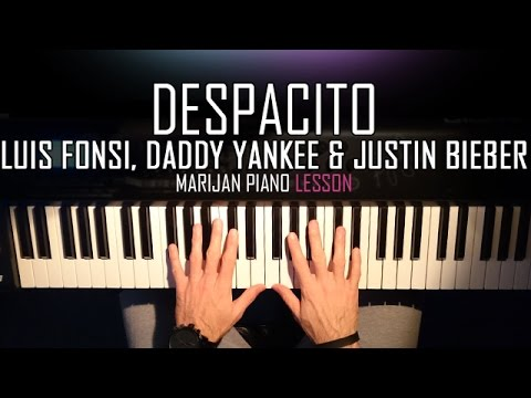 Luis Fonsi & Daddy Yankee ft. Justin Bieber - Despacito (Remix) | Piano Tutorial Lesson + SHEETS