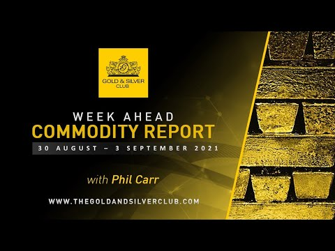 WEEK AHEAD COMMODITY REPORT: Gold And Silver Price Forecast: 30 August - 3 September 2021