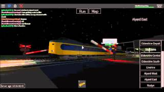 ROBLOX Alyard East Station Level Crossing (28/04/16)