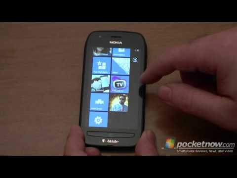 T Mobile Nokia Lumia 710 Software Tour | Pocketnow