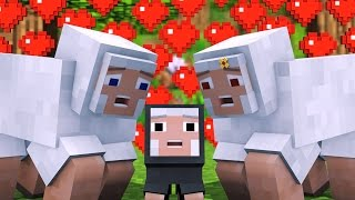 One of Alien Being's most viewed videos: Sheep Life - Minecraft Animation