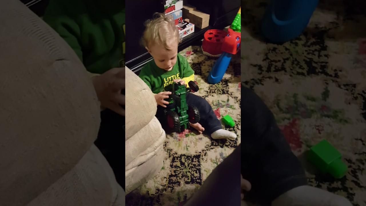 My little farmer! - YouTube