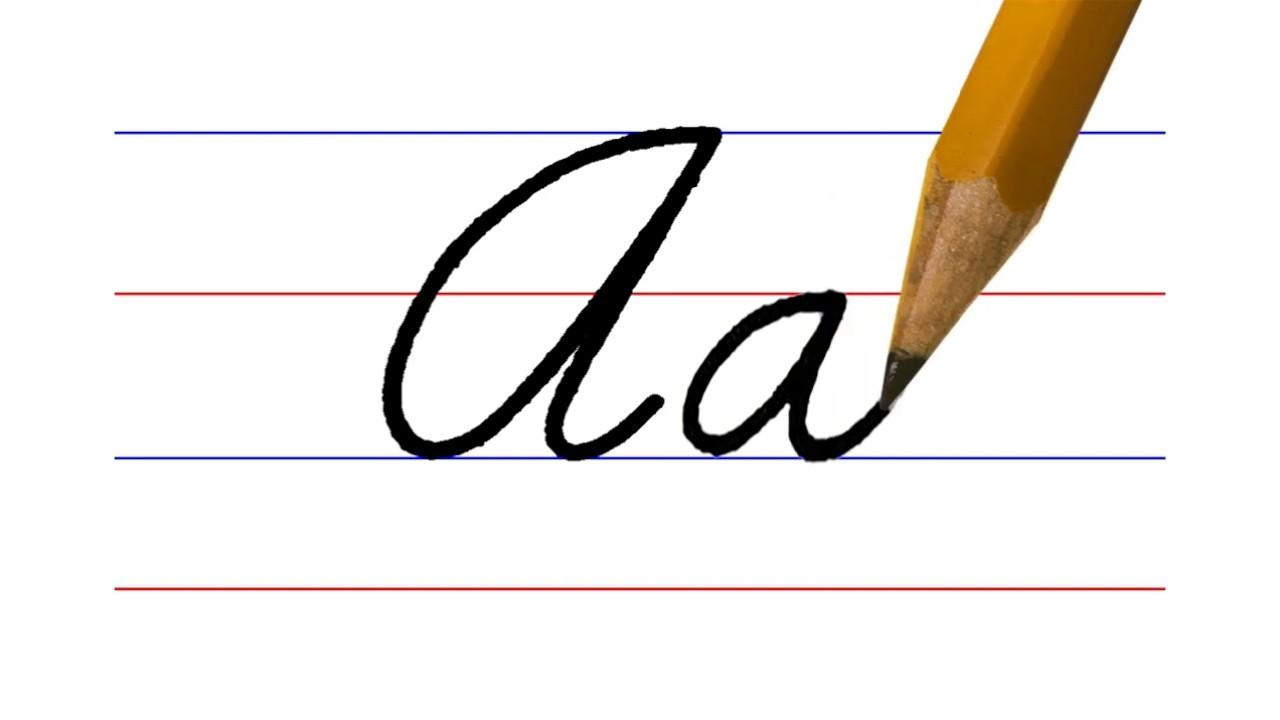 Letter A Cursive Writing Pagsuwat Ug Pinakatay Youtube